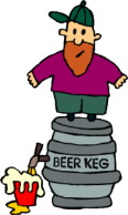 tapping a keg