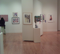 No one in gallery
