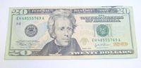 a twenty-dollar bill