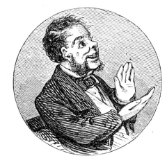 a man clapping