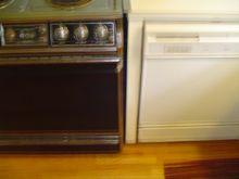 dishwasher and stove