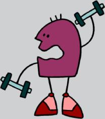 dude exercising