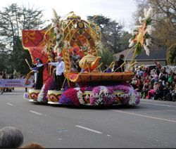 float in a parade