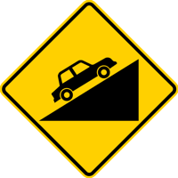 steep grade