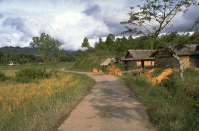 home along road
