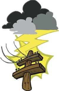 jolt of lightning