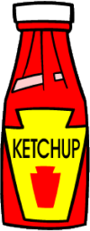 ketchup in a bottle