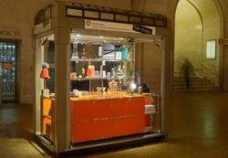 kiosk inside