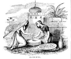 kneeling women