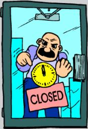 closed dorrs