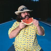 mean eating watermelon