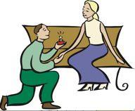 man proposing