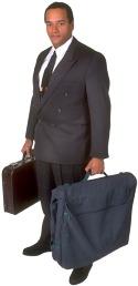 man traveling