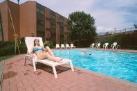 near the pool