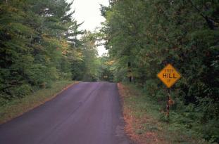 sign by the road