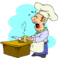 chef crying