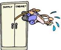 supply cabinet