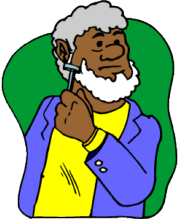 man using a razor