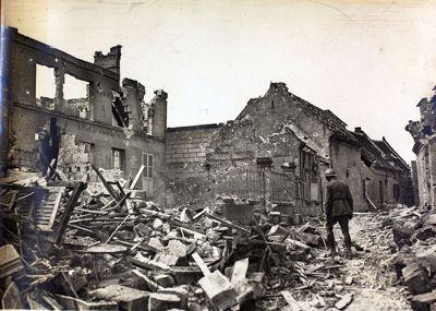 war rubble
