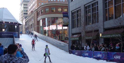 skiing in Minneapolis