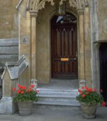 steps to a door