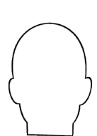outline of a head
