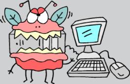 virus eating computer