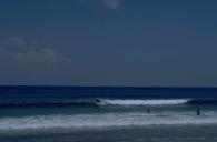 onto waves